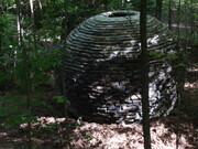 Atmo-sphere. 2013. h. 2.5m. Haliburton Sculpture forest. Haliburton Ontario.  Image 2